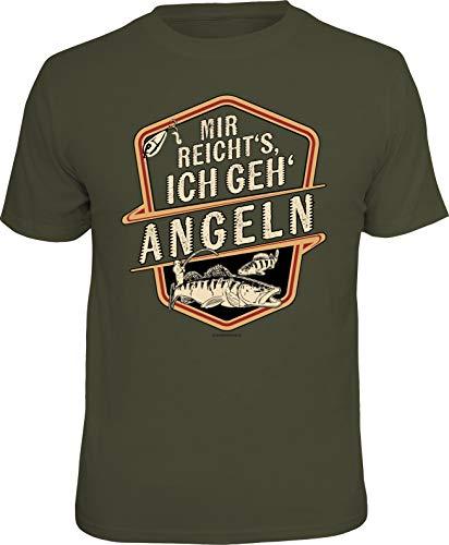 Männer Geschenk T-Shirt für Angl...