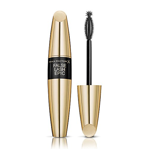 Max Factor False Lash Epic Mascara Schwarz – Wimperntusche mit innovativer 3 Zonen Bürste für...