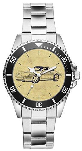 Geschenk für Porsche 911 Modell 964 Oldtimer Fans Fahrer Kiesenberg Uhr 6252