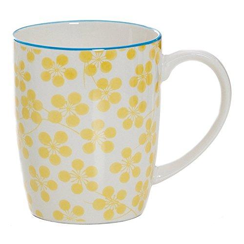 Ritzenhoff & Breker Makina Kaffeebecher, Tasse, Kaffeebecher, Teetasse, Porzellan, Gelb, 350 ml, 038712