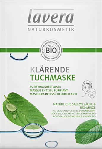 Lavera Klärende Tuchmaske, 21 ml