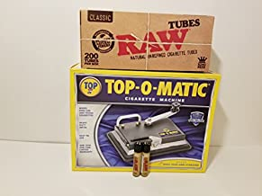 New Top-O-Matic Cigarette Rolling Machine+ FREE Shargio tubes & liighters