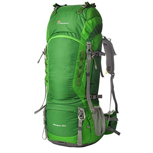 MOUNTAINTOP 70L 75L 80L Zaino da Trekking Outdoor Donna e Uomo Zaini Impermeabile e Alta capacità Zainetto per Escursionismo Montagna Campeggio Alpinismo Viaggio