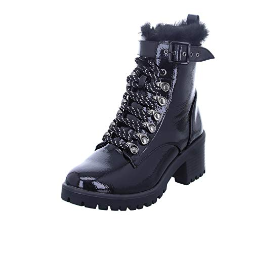 Pepe Jeans London Damen Fulham BASS Stiefeletten, Schwarz (Black 999), 40 EU