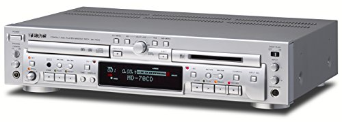 TEAC CDプレーヤー/MDレコーダー シルバー MD-70CD-S