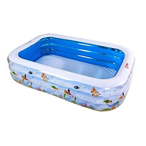 Bdesign Hogar del bebé Infantil Los niños Piscina Inflable de Gran tamaño de la Familia del océano Ball Pool Grueso Piscina for niños