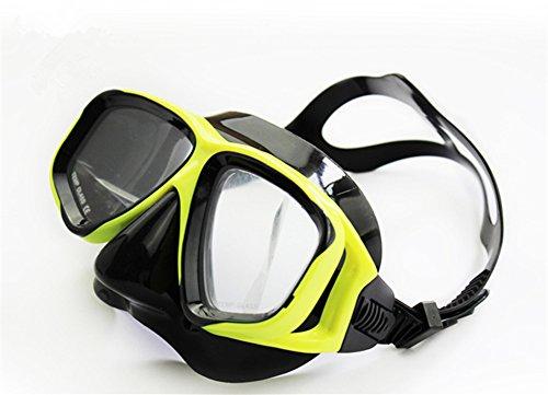 Tauchermaske kurzsichtig - Taucher Tauchen Maske Schnorchel, Schwimmen, Schnorcheln - Klargläser oder mit Rezept, Kurzsichtig, Kurzsichtigkeit, Kurzsichtig Taucherbrille Tauchmaske Tauchermaske (-2.5)