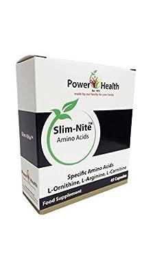 Power Health - Slim Nite L-Ornithine L-Arginine & L-Carnitine - 45s