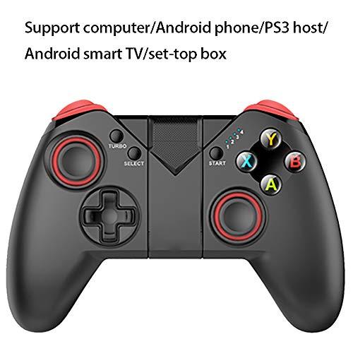 Controlador de Juegos para teléfono Android, Controlador de Juegos para PC/TV, Controlador de Juegos de Doble vibración, Compatible: Host PS3, TV Inteligente-Noresources