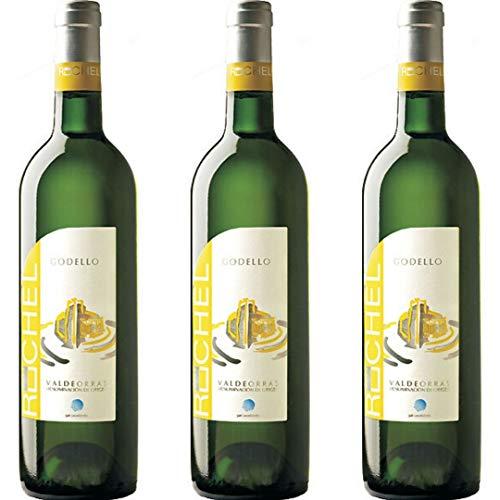 Ruchel Vino Blanco - 3 botellas x 750ml - total: 2250 ml