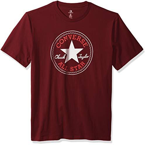 Converse Herren Chuck Patch T-Shirt - Rot - Large
