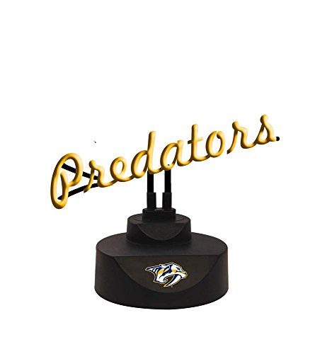 The Memory Company NHL Nashville Predators Script Neon Sign, One Size, Multicolor image