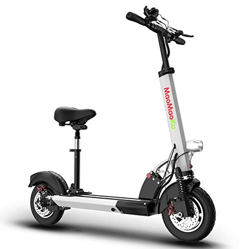 CYGGL portátil Plegable Scooter eléctrico Mini Adulto Amortiguador de Bicicleta/Kilometraje máximo 80...