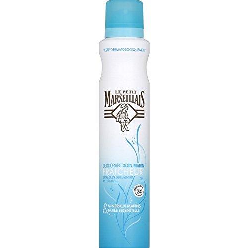 Le Petit Marseillais Déodorant soin marin fraîcheur 24h anti-traces - La bombe de 200ml