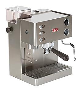 Espresso Siebträgermaschine mit Mahlwerk Lelit pl82t Maschine für Espresso