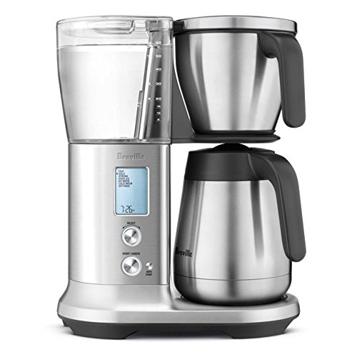 Breville Precision Brewer Pid Temperature Control Thermal Coffee Maker w/Pour Over Adapter Kit - BDC455BSS