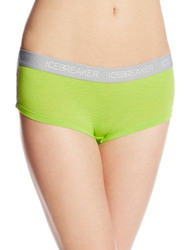 icebreaker Damen Hose Shorts Womens Sprite Hot Pants, Honeydew, XS