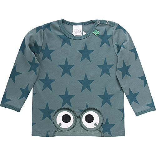 Fred'S World By Green Cotton Star Peep T Baby T-Shirt, Vert (Dream Green 018541001), 92 Bébé garçon