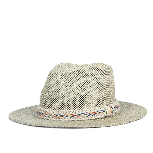 Xingyue Cowboy Cap Summer Fashion Large Brim Sun Hat Panama Hollow Out Hoed voor heren dames Leren hoed Beach Cap Jazz Fedora