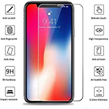 Mmmiles 3 Pack iPhone X XSGlass Screen Tempered Protector Mmmiles LLC Screen Protectors 9H Hardness Full Cover No Bubbles5.8Inches