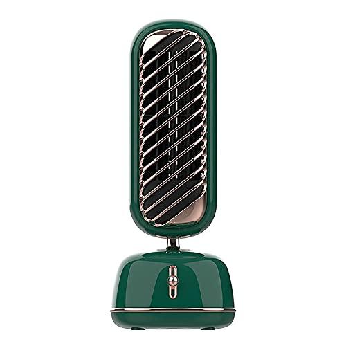 Condizionatore d'Aria Portatile Verticale con Ventilatore da Camera da Letto, Dispositivo di Raffreddamento USB, velocità del Vento a Tre velocità, Bassa rumorosità, Adatto per Comodino, Ufficio e sa