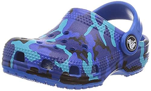 Crocs Kinder Schuhe Classic Printed Clog 205813 Bright Cobalt 37-38
