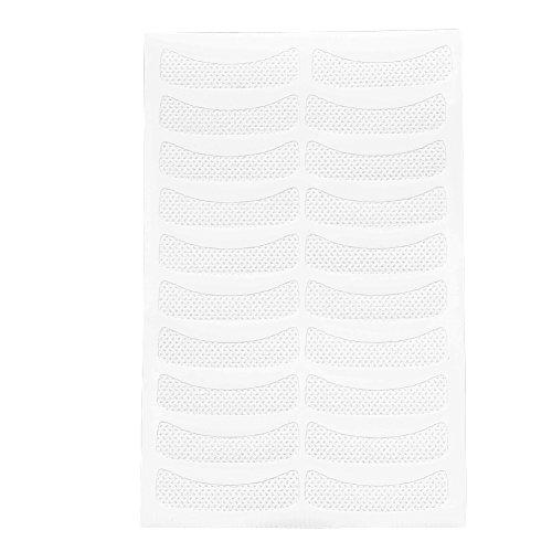 Nitrip 100 Pcs Non-tissé Maquillage Blanc Autocollant Pour Les Yeux Doux Extension De Cils Non-tissé Bande De Teinture Faux Pad