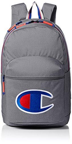 Champion Herren SuperCize Backpack Rucksäcke, grau, Einheitsgröße