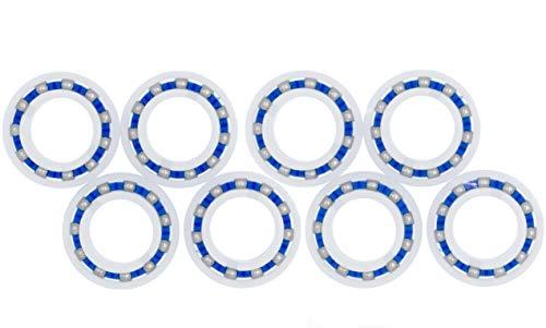 Lodd Pool - Juego de 8 rodamientos de bolas adaptables para rueda...