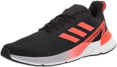 adidas mens Response Super Running Shoe, Black/Solar Red/Halo Silver, 11 US