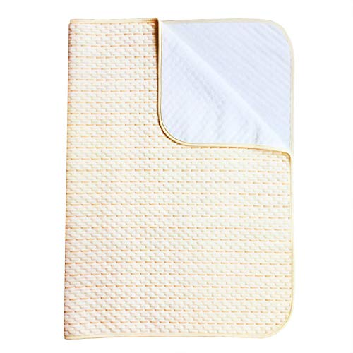 Waterproof Sheet Incontinence Bed Protector Washable Crib Mattress Sheets for Baby Toddlers Children Adults Pets by YOOFOSS