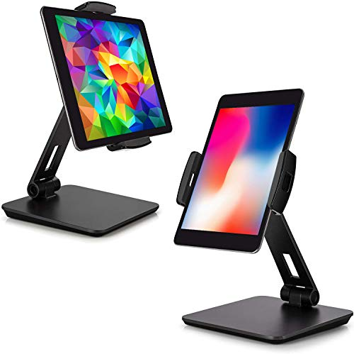 MagicHold I Ergonomic Design Stand/Mount Compatible with iPad Pro/ipad air/Tablet 9-13'-360º Turn/tilt (D.Gray)