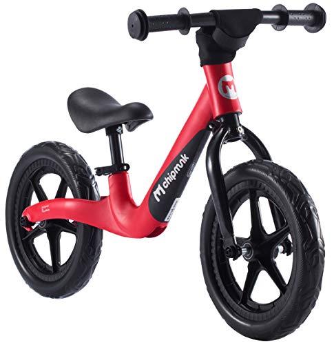 RoyalBaby Chipmunk 12 inch Lightweight Magnesium Sport Balance Bike, Red (CM-B001R)