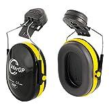 JSP AEK010-005-300 InterGP - Protectores para oídos, para acoplar al casco'InterGP', negros y amarillos