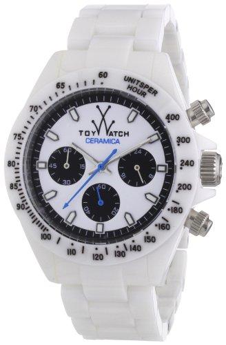 ToyWatch Unisex-Armbanduhr Chronograph Keramik CM03WH
