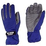 DES SPEED DES-617 ミッドタイプレーシンググローブ ブルー L 四輪用 外縫い DES617BU-L