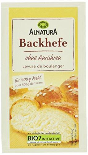 Alnatura Bio Backhefe, glutenfrei, vegan, 25er Pack (25 x 9 g)