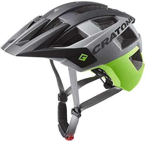 Cratoni AllSet MTB Helm Black/Lime Matte Kopfumfang M/L | 58-61cm 2020 Fahrradhelm