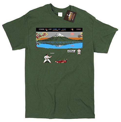 International Karate 8 Bit Gamer T-Shirt for Men