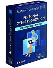 Acronis True Image 2021   3 PC/Mac   Eeuwigdurende licentie   Persoonlijke cyberbeveiliging   Geïntegreerde back-up en antivirus   Onbeperkt aantal Android- / iOS-apparaten   Box-versie