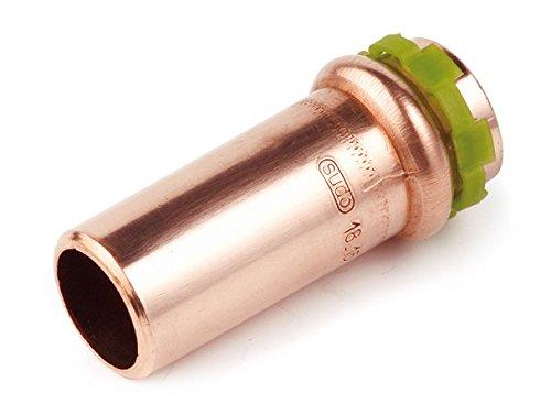 Kupfer Pressfitting SudoPress Reduziernippel 15 mm auf 12 mm, VC243
