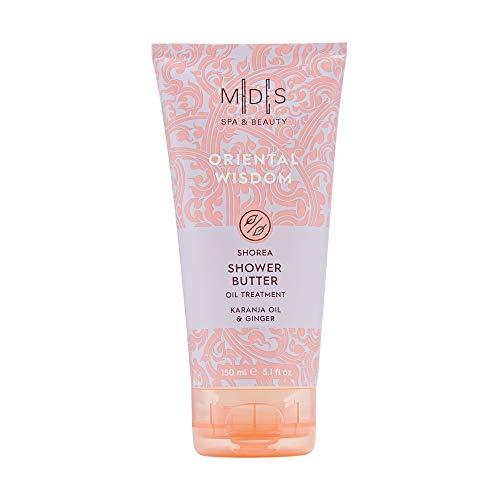 Mades Cosmetics - Oriental Wisdom, Karanja Oil & Ginger Shower Butter, Oil Treatment 150ml