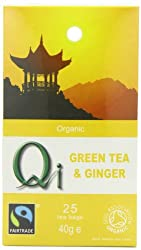 Combination of green tea and ginger and is enhanced with fennel^High quality teas^Wheat free^Traditionally used tea as an aid to digestion^Comforting and helps to ward off winter ailments