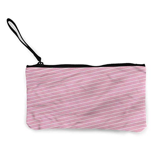 Dimensions: 8.5in by 4.5in This is a cute, lightweight and soft canvas coin purse that can carry your daily necessities with you Suitable for cash, coins, lipstick, credit cards, keys, headphones and mobile phones. This will be suitable for small nec...
