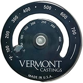 Vermont Castings Magnetic Wood Stove Thermometer