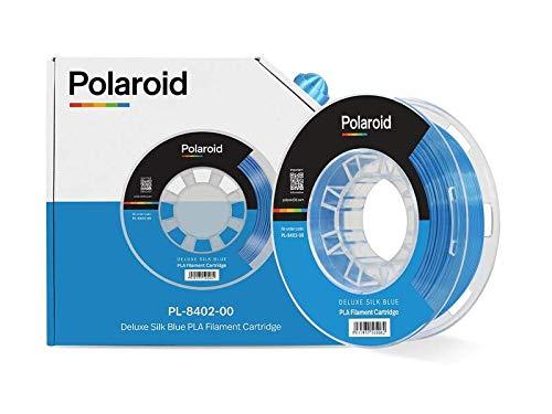 Polaroid filament 250 g universal deluxe silk PLA filament blue