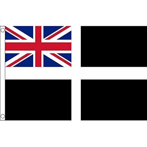 30 x 45 cm Militaria Verzamelingen 12 x Cornwall St Piran's Day Cornish Kernow Hand Flags 18'' x 12''
