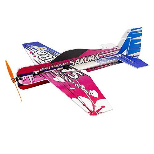 Upgrade 3D RC Airplane PP SAKURA Aerobatic Flying Plane