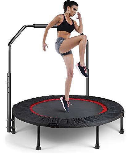 Shizzz Trampoline for Fitness Rebounder,Kids Trampoline, Fitness Trampoline with Safety Pad, Stable...