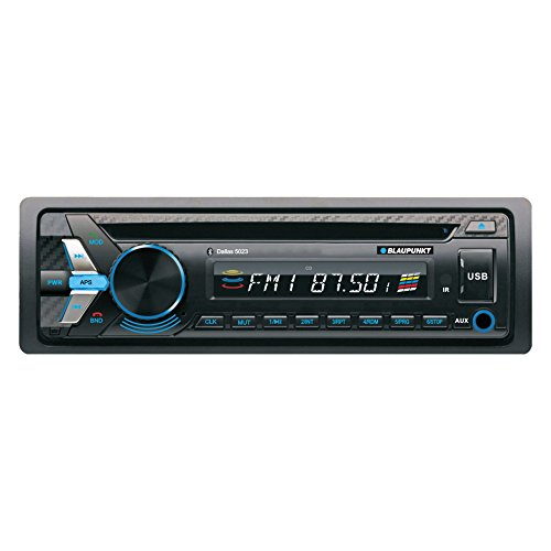 Blaupunkt DALLAS 5023 MP3 and CD Car Stereo Receiver with USB, SD, and AUX Port and Remote Control